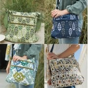 Canvas Cross Body Bag Collection