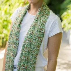 Apples Design Scarf