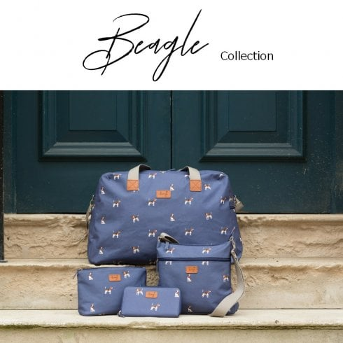 Peony Beagle Collection Navy