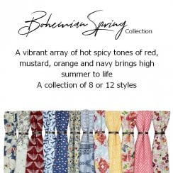 Bohemian Spring Collection
