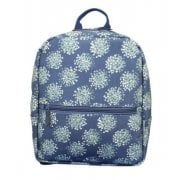 Dandelion Print Backpack - Navy