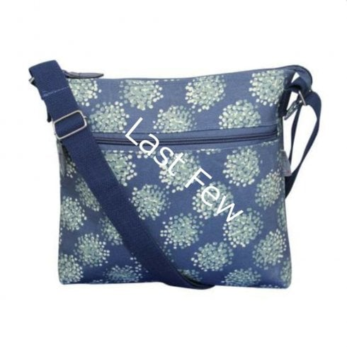 Peony Dandelion Print Cross Body Bag