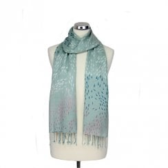 Fishes Print Scarf