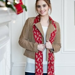 Gingerbread Man Scarf