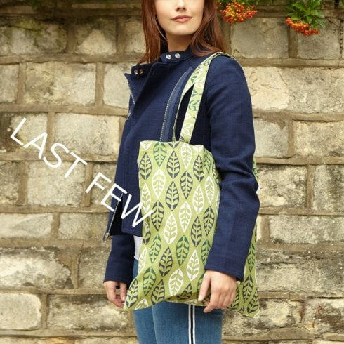 Grenoble Forest Shopper Bag - Dill