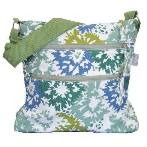 Peony Hibiscus Cross Body Bag