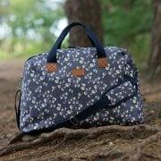 Jasmine Navy Weekender Bag