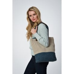 Large Jute Shopper