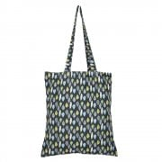 Leaves Shopper Bag - Charcoal DUE AUGUST