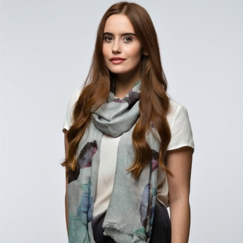 Peony London Cactus Digital Print Scarf