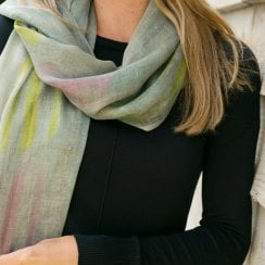 Circle Stripe Scarf