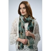 Peony London - Modal Scarf - Camouflage Rose