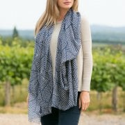 Polygon Design Large Modal Scarf