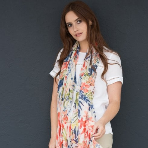 Peony London Tropical Scarf
