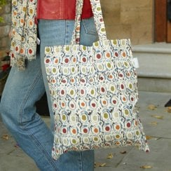 Olives Cotton Shopper
