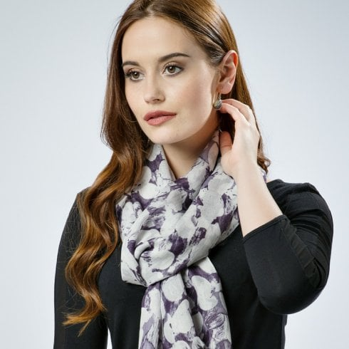 Peony Painted Petals Scarf