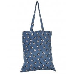 Puffin Print Shopper Bag