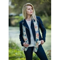 Rachel Print Silk Scarf - Best Seller