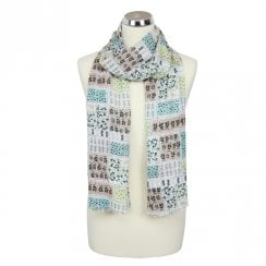 Scandi Rabbits Scarf