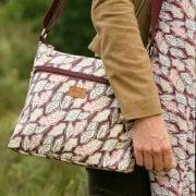 Scattered Leaves - Cross Body Bag