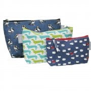 Set of 3 Wash Bags