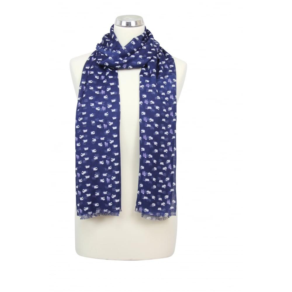 peony sheep print scarf peony from peony uk