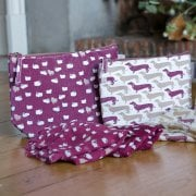 Sheep & Sausage Dog Wash Bag