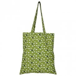 Sheep Shopper Bag - Moss DUE AUGUST