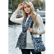 Topspin Cotton Cross Body Bag
