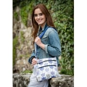 Tulip Print Cross Body Bag