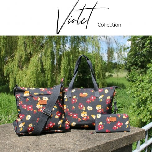 Peony Violet Collection Black