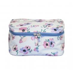 Violet Print Beauty Case - Lilac