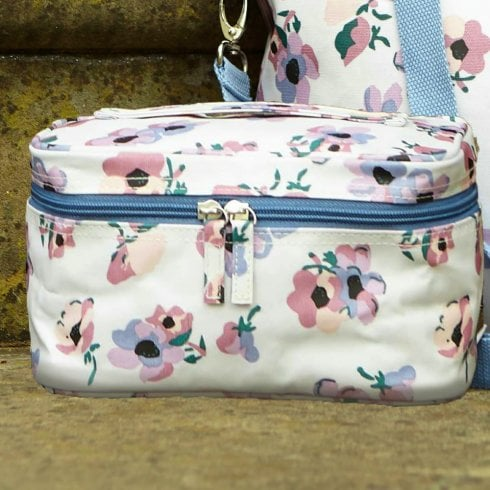 Violet Print Beauty Case - Lilac