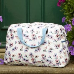 Violet Print Weekend Bag - Lilac
